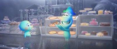 22 and Joe Gardner in Pixar's Soul