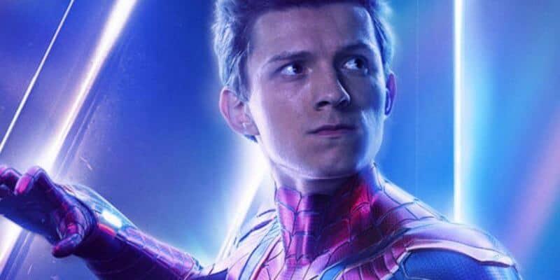 Tom Holland as Spider-Man