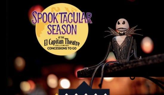 spooktacular season at el capitan theatre