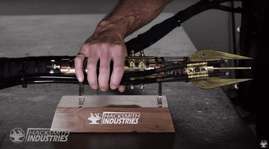 steampunk real lightsaber handle