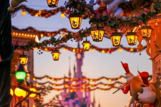 Moonrise Disneyland Paris