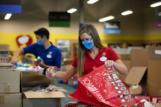 disney donates school supplies