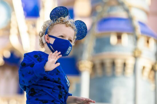 wishes come true blue kid