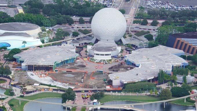 Construction Continues at EPCOT