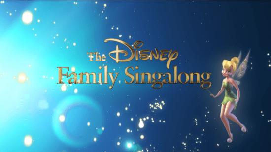 disney family sing along