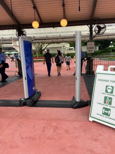 WDW security