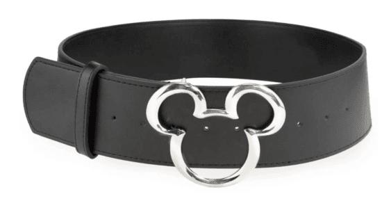 Black belt with mickey head