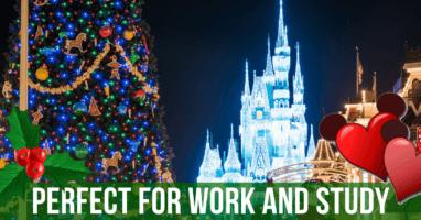 Disney ambient christmas music