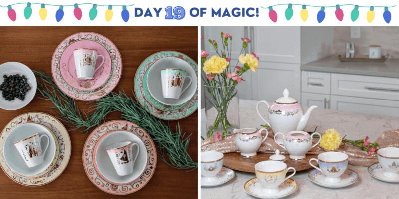Princess Dinnerware and tea set