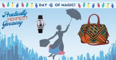 Mary Poppins watch and purse
