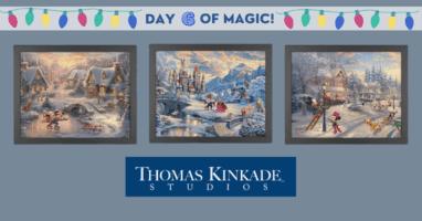 Thomas Kinkade Disney Holiday Set