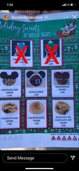 Food at Disneyland Trolley Treats