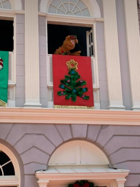 Fozzie Christmas Magic Kingdom