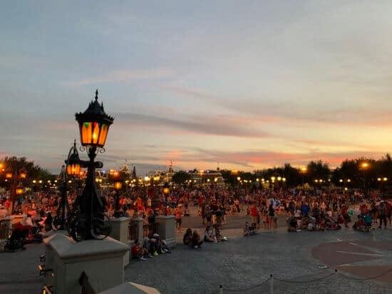 Crowds at Magic Kingdom