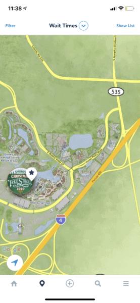 Disney Springs Map, My Disney Experience App