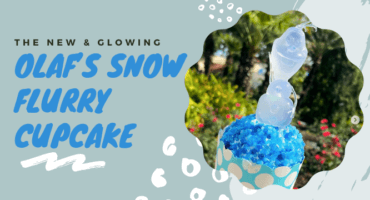 Olaf's Snow Flurry Cupcake header