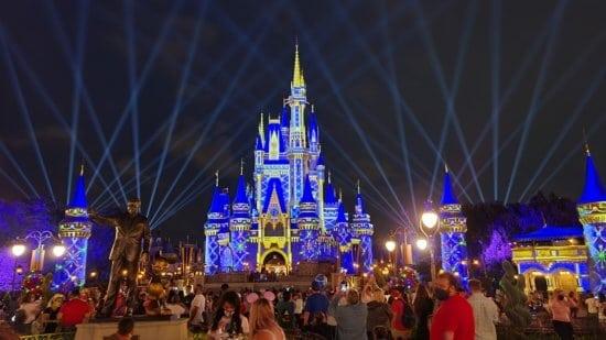 Disney World Night
