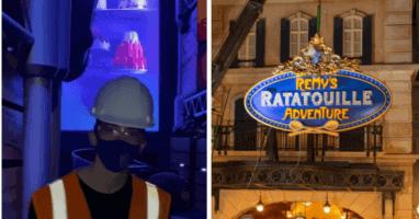 Disney Ratatouille Ride Sneak Peek