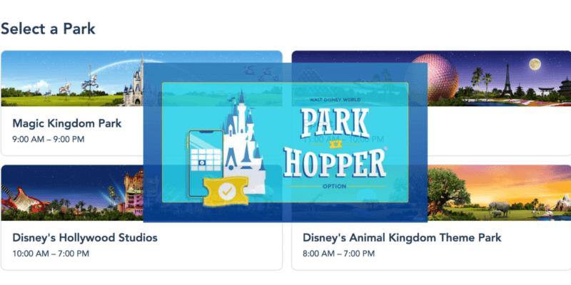 Disney World Modified Park Hopping