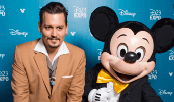 johnny depp and mickey mouse