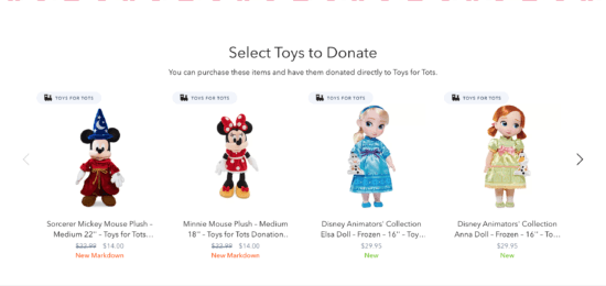 Disney/Toys for Tots