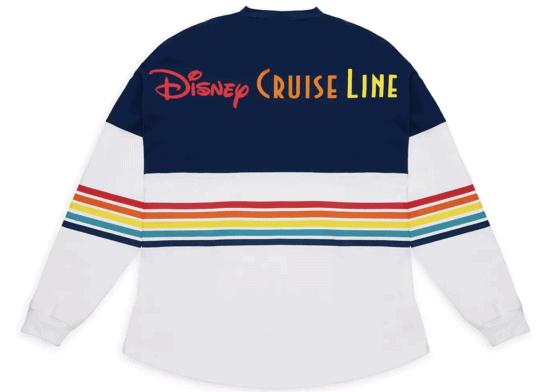 rainbow Disney Cruise Line Spirit Jersey