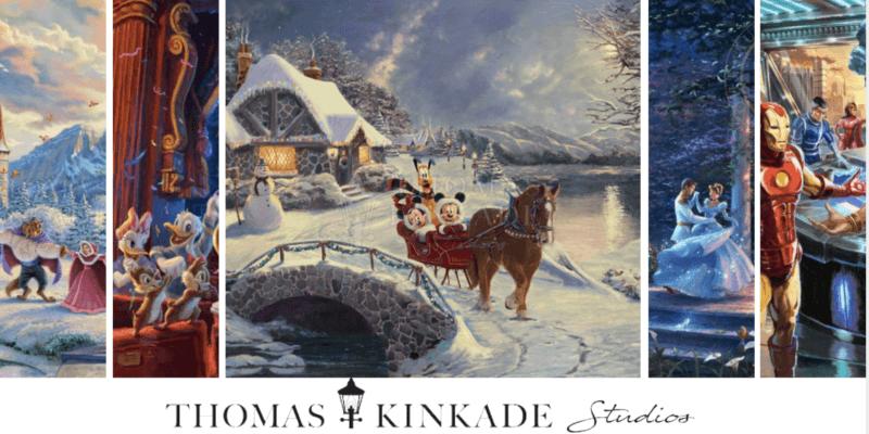 thomas kinkade gift guide header