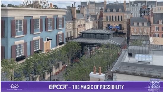 Parisian Canopy made real.