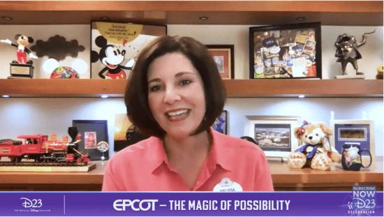 Vice President of EPCOT Melissa Valiquette