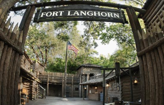 tom sawyer island fort langhorn