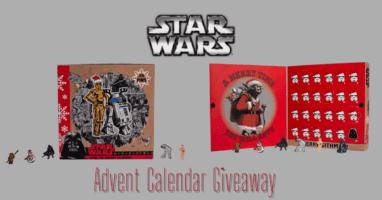 Star Wars Pin Advent Calendar