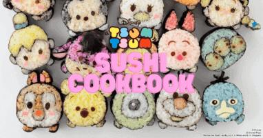 Tsum Tsum sushi cookbook feature photo