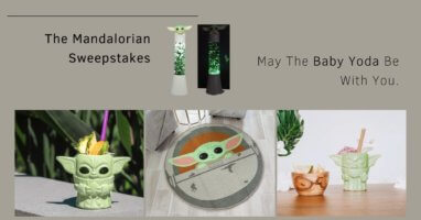 May the Baby Yoda be with You Sweepstakes