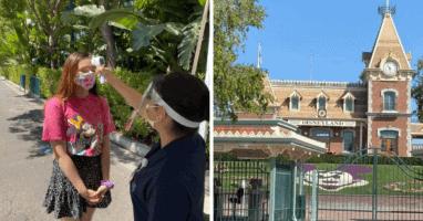 theme parks covid testing