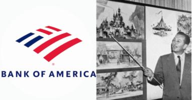 Walt Disney Bank of America