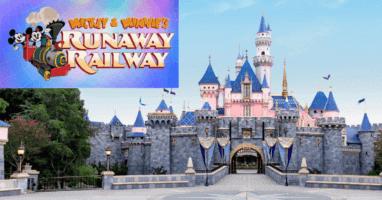 Mickey and Minnie's Runaway Railway Disneyland