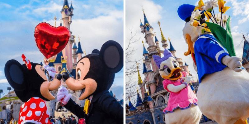 Disneyland Paris Valentine's Day