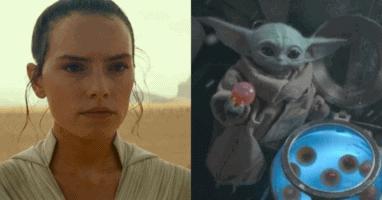 Daisy Ridley Baby Yoda