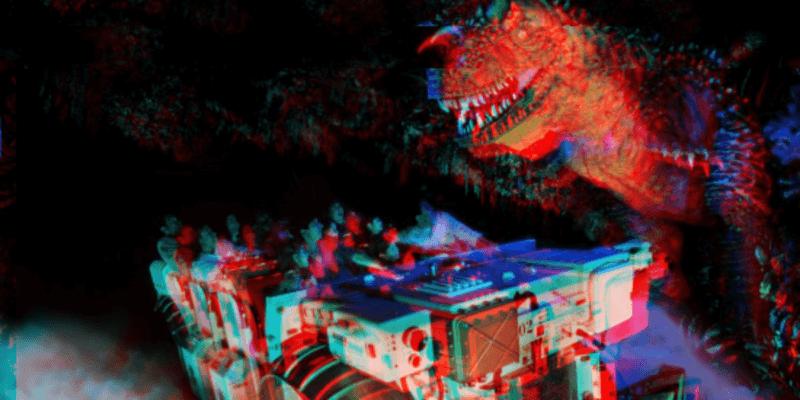 Disney Ride Breakdown Dinosaur
