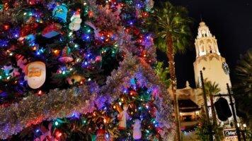 buena vista street tree lighting