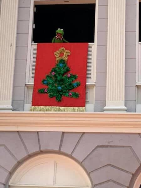 Kermit, Christmas at Magic Kingdom