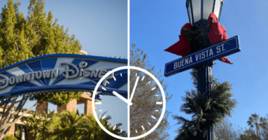 will disney change its operating hours due to new curfew mandates?