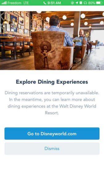 dining screenshot