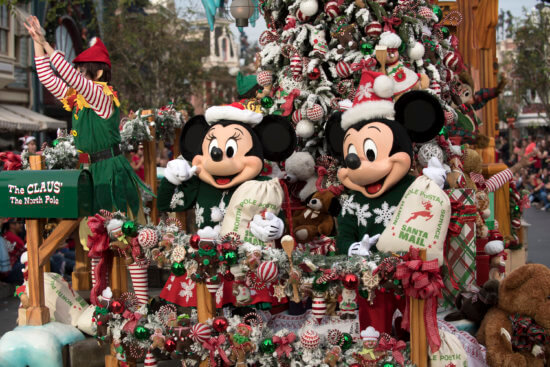 DISNEY PARKS MAGICAL CHRISTMAS CELEBRATION - (Monday, Dec. 25, from 10:00 a.m.-12:00 p.m. EST, 9:00-11:00 a.m. CST/MST/PST; airtimes vary, check listings, on The ABC Television Network and on the ABC app) - This Christmas, Disney Parks celebrates the joy of the holiday season, as hosts Julianne Hough and Nick Lachey take viewers on a magical ride down Main Street, U.S.A. and beyond. Co-hosted by Jesse Palmer, the Christmas Day celebration will be brighter than ever before, bringing together the beloved Christmas Day parade, magical musical performances, surprise celebrity guests and heartwarming family stories to celebrate the most wonderful time of the year. (DIsney/Image Group LA)