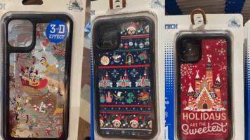 Disney holiday phone cases