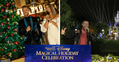disney magical holiday celebration airs this thanksgiving