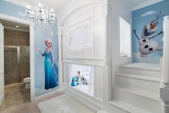 Frozen-themed room