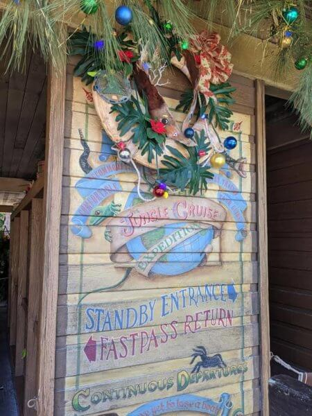 jingle cruise wreath