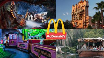 McDonalds Happy Meal Disney World toys