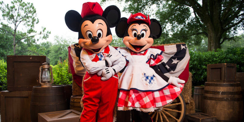 mickey and minnie fort wilderness